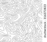 topographic map seamless line... | Shutterstock . vector #316372823
