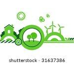 ecology design. | Shutterstock .eps vector #31637386