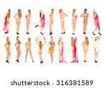 bare and charming soft erotica    Shutterstock . vector #316381589