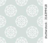 oriental vector classic pattern.... | Shutterstock .eps vector #316399418