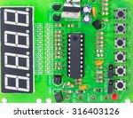 macro photo of electronic... | Shutterstock . vector #316403126