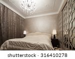 interior of modern bedroom | Shutterstock . vector #316410278