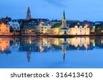 beautiful reflection of the... | Shutterstock . vector #316413410