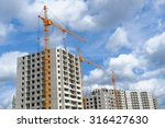 multistorey houses under... | Shutterstock . vector #316427630