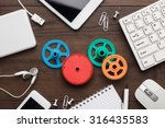 workflow and teamwork concepts... | Shutterstock . vector #316435583