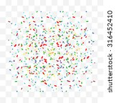 abstract background with many... | Shutterstock .eps vector #316452410