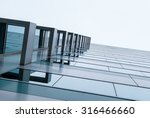 urban geometry  looking up to... | Shutterstock . vector #316466660