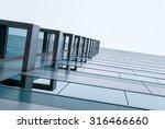 urban geometry  looking up to... | Shutterstock . vector #316466660