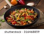 Stir Fry Chicken  Sweet Pepper...