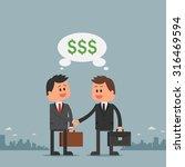 business concept vector... | Shutterstock .eps vector #316469594