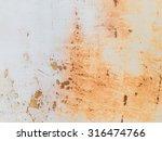 Old Rusty Metallic Surface...