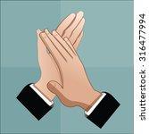 a vector illustration of... | Shutterstock .eps vector #316477994