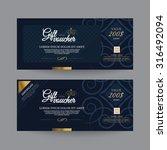 gift voucher premier color | Shutterstock .eps vector #316492094