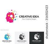 creative idea logo template | Shutterstock .eps vector #316502423