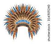 Native American Headdress....