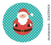 retro styled christmas card...   Shutterstock .eps vector #316559414