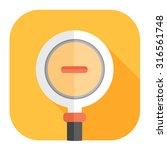 zoom in icon   Shutterstock .eps vector #316561748