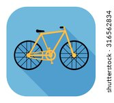 bicycle icon | Shutterstock .eps vector #316562834