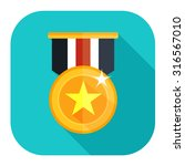 win medal icon | Shutterstock .eps vector #316567010