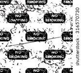 no smoking pattern  grunge ...