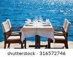 Elegant Restaurant Table...