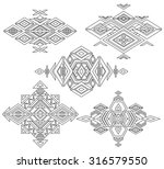 tribal element patterns on... | Shutterstock .eps vector #316579550
