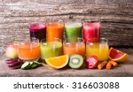 healthy fruit   vegetable juice ... | Shutterstock . vector #316603088