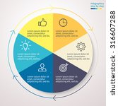 standard pie chart  graph ... | Shutterstock .eps vector #316607288