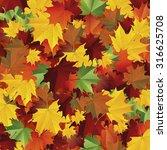 autumn background.vector | Shutterstock .eps vector #316625708