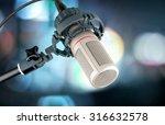 studio microphone.   Shutterstock . vector #316632578