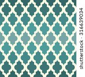 moroccan seamless pattern. the... | Shutterstock .eps vector #316639034