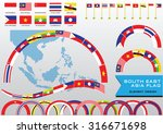 aec or asean or south east... | Shutterstock .eps vector #316671698