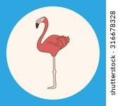 bird cartoon theme elements... | Shutterstock .eps vector #316678328