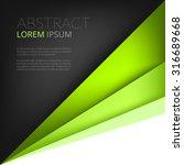 Green Background Vector Paper...