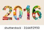 happy new 2016 year   Shutterstock .eps vector #316692950
