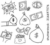 an image of a financial symbol...   Shutterstock .eps vector #316697576