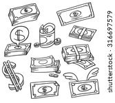 an image of a financial symbol...   Shutterstock .eps vector #316697579
