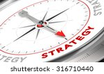 compass with needle pointing... | Shutterstock . vector #316710440
