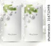 Set Of Elegant Christmas...