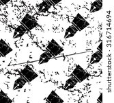 ink pen pattern  grunge  black...