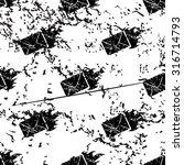 burning envelope pattern ...