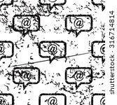 e mail message pattern  grunge  ...