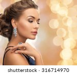 people  holidays and glamour... | Shutterstock . vector #316714970
