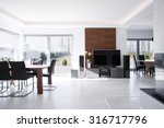 sunny expensive house in... | Shutterstock . vector #316717796