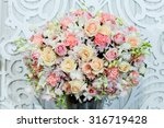 flower bouquets   bunch of... | Shutterstock . vector #316719428
