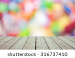 abstract blurred boken effect... | Shutterstock . vector #316737410