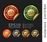 vector   display only not for... | Shutterstock .eps vector #316737824