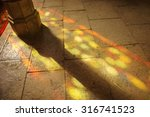 Colorful Light Spots On The The ...