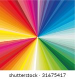 vector colorful explosion of... | Shutterstock .eps vector #31675417