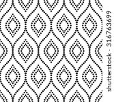 pattern with seamless  ornament.... | Shutterstock . vector #316763699